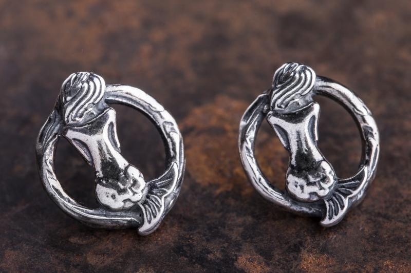 Eres Design - Orecchini Toppetta Partenope argento
