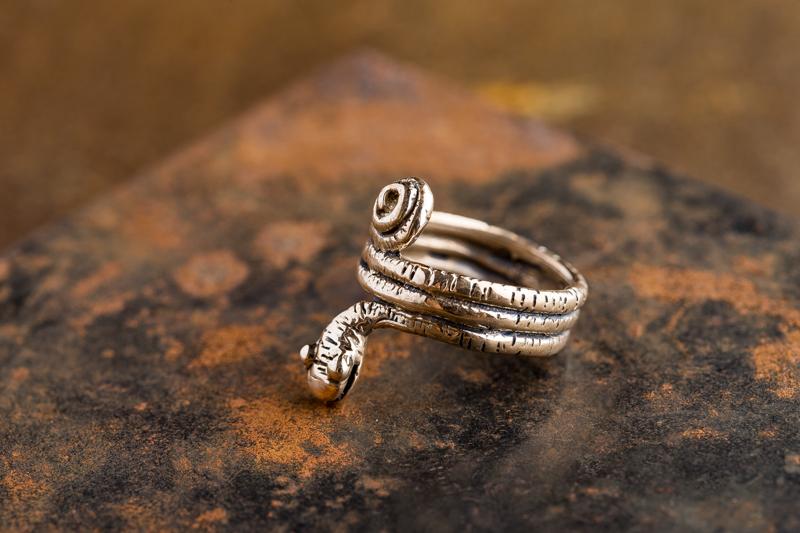 Eres Design - Anello Mamba bronzo