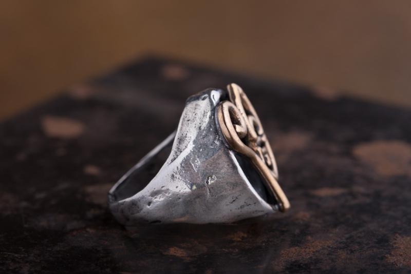 Eres Design - Anello San Gennaro chevalier ovale