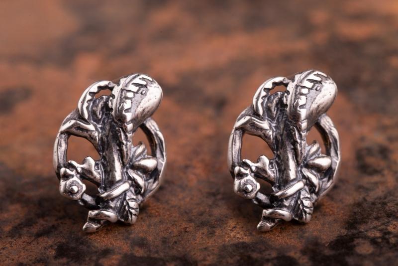 Eres Design - Orecchini Toppetta vari soggetti argento